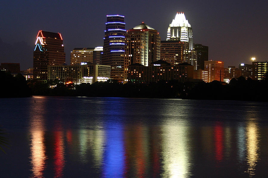 Downtown Austin Skyline Photograph by Xjben