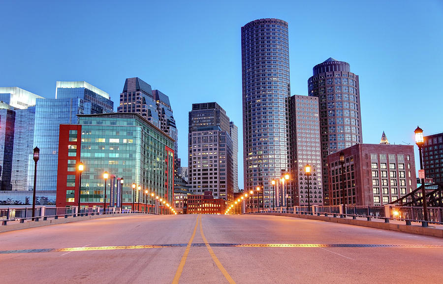 Downtown Boston Photograph by Denistangneyjr