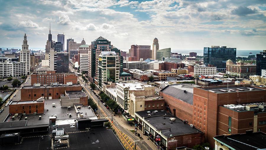 Downtown Buffalo by John Lattanzio