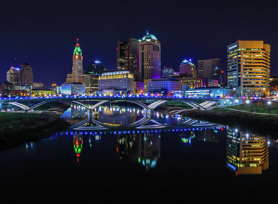 Downtown Columbus Ohio Skyline by Dan Sproul