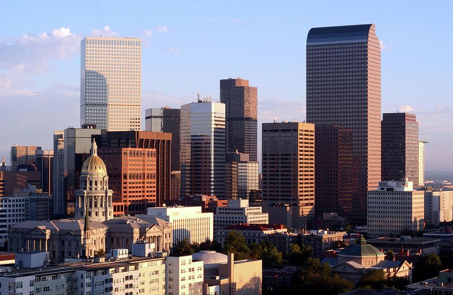 Downtown Denver Photograph by Filo