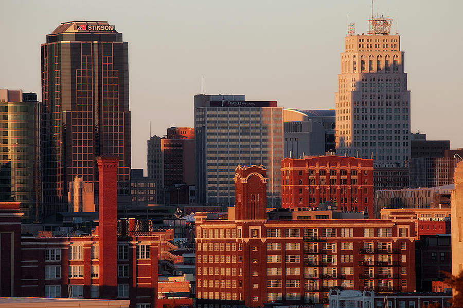 Downtown Kansas City Photograph by Eric Bowers Photo