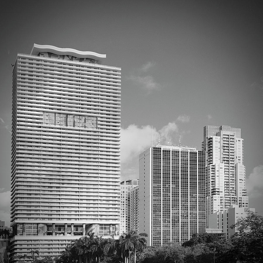 Downtown Miami RL071904 by Rudy Umans