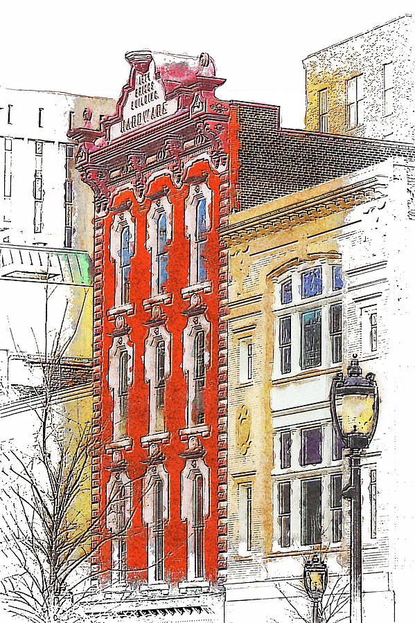 Downtown Raleigh North Carolina FX by Dan Carmichael