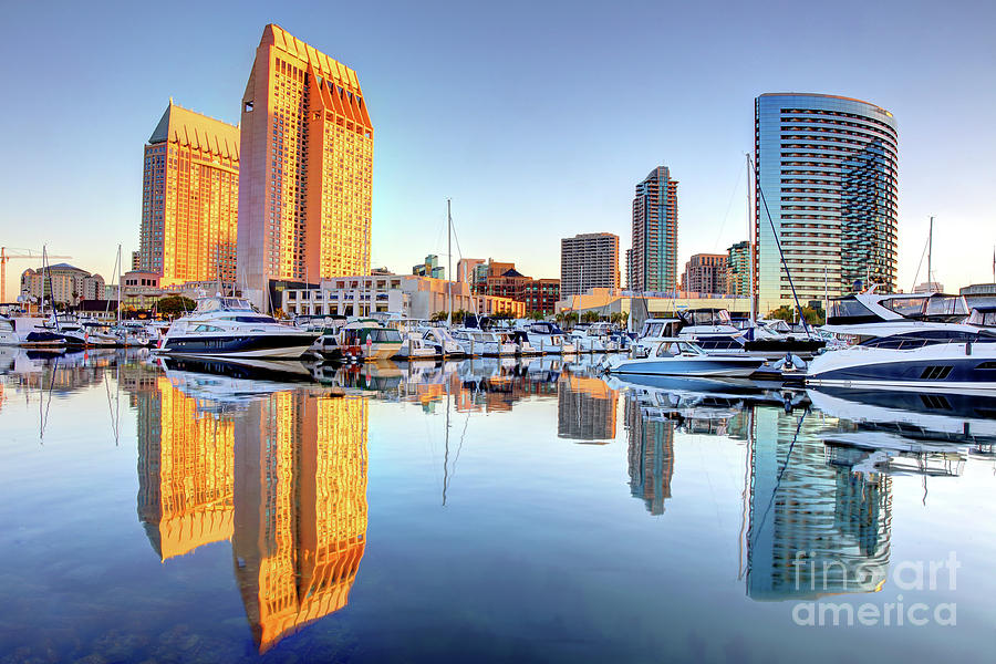 Downtown San Diego California Skyline Photograph By Denis Tangney Jr
