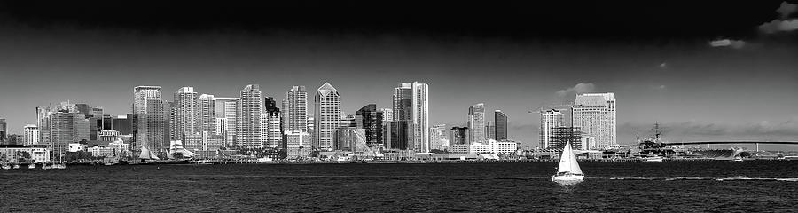 Downtown San Diego Panorama by David Patterson