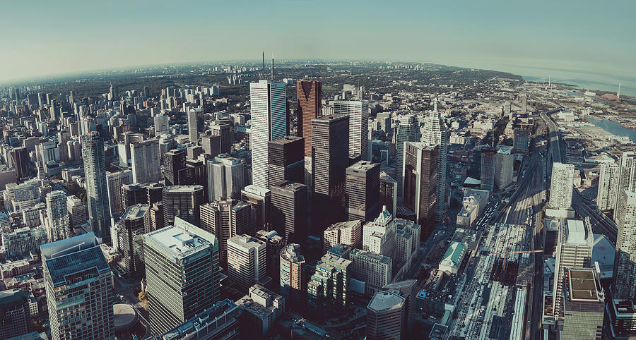 Downtown Toronto City Photograph by D3sign