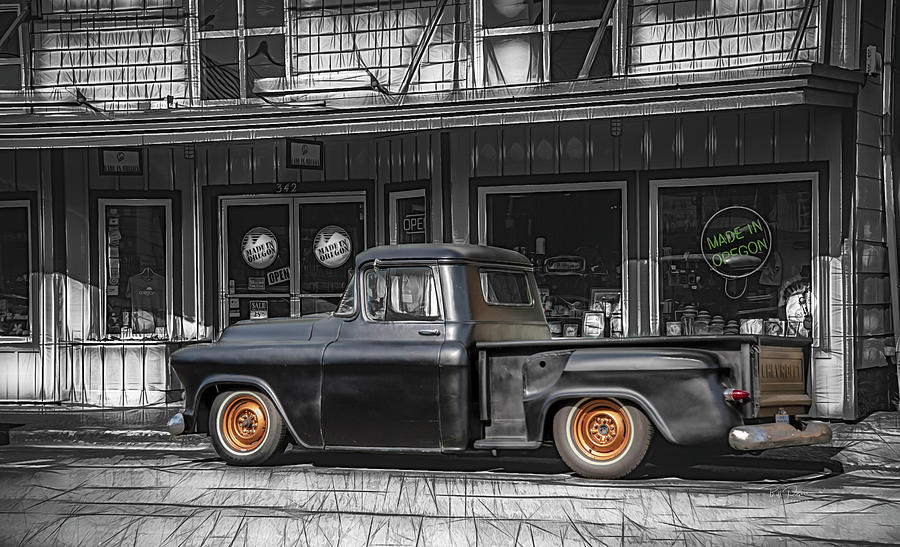 Downtown Truck by Bill Posner