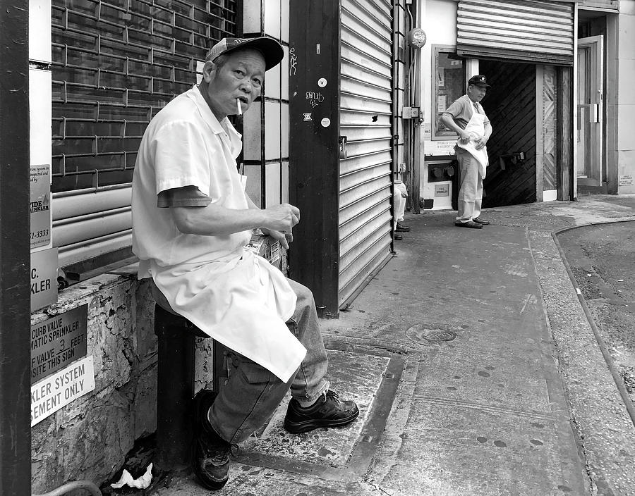 Doyers Street, Chinatown by Michael Gerbino