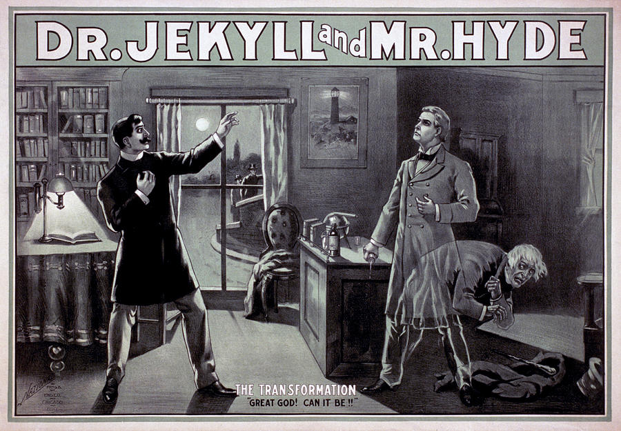Dr Jekyll and Mr Hyde by National Printing and Engraving Company Chicago