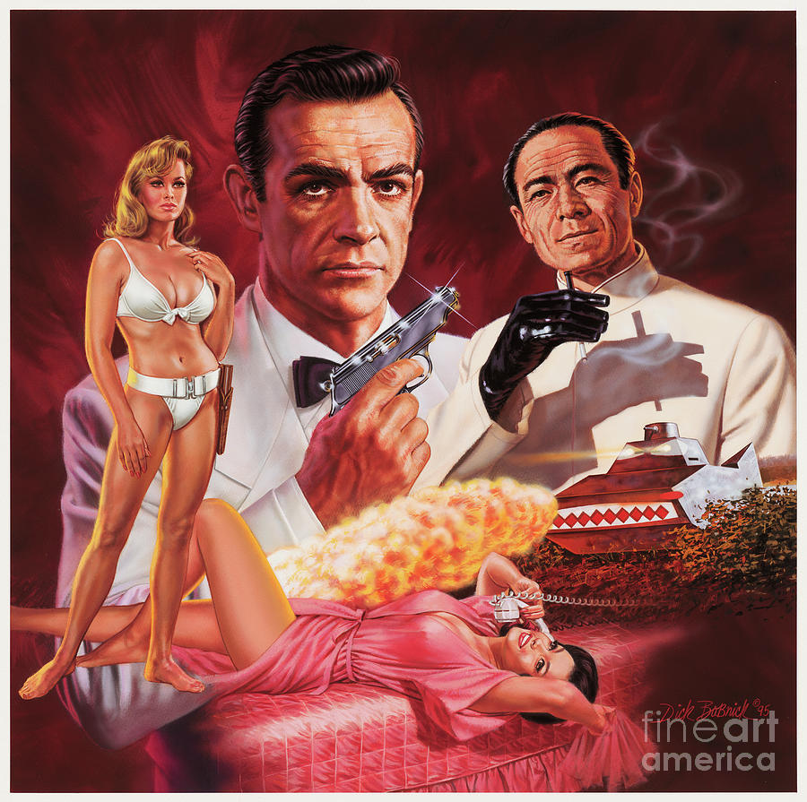 DR. NO by Dick Bobnick