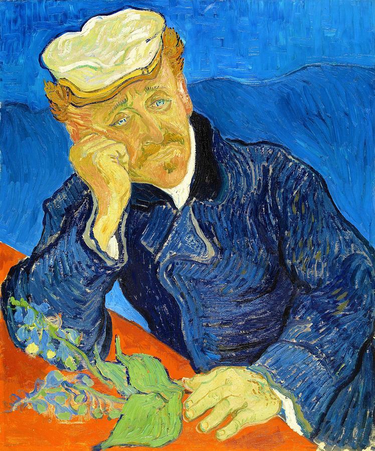 Vincent Van Gogh Painting - Dr Paul Gachet - Digital Remastered Edition by Vincent van Gogh