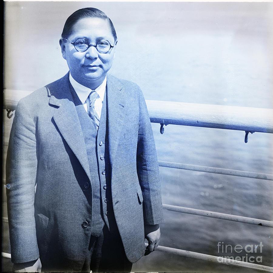 Dr. Sun Fo, Son Of Sun Yat-senwaist Photograph by Bettmann