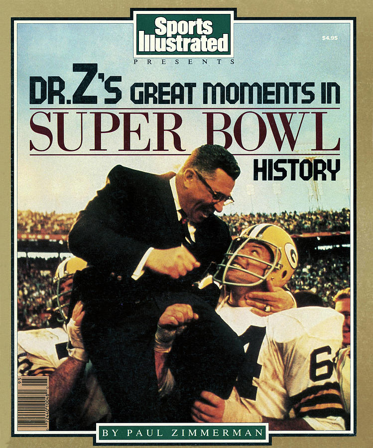 Dr. Zs Great Moments In Super Bowl History By Paul Zimmerman Sports Illustrated Cover Photograph by Sports Illustrated