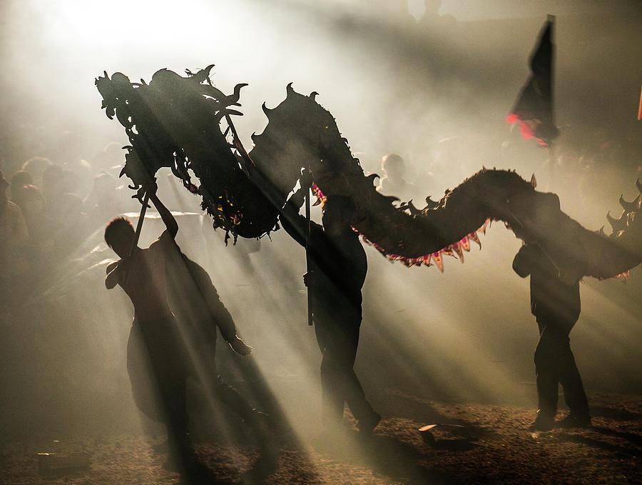 Dragon Bombing Festival Photograph by Ivan