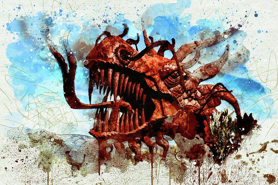 Dragon by Mark Jackson