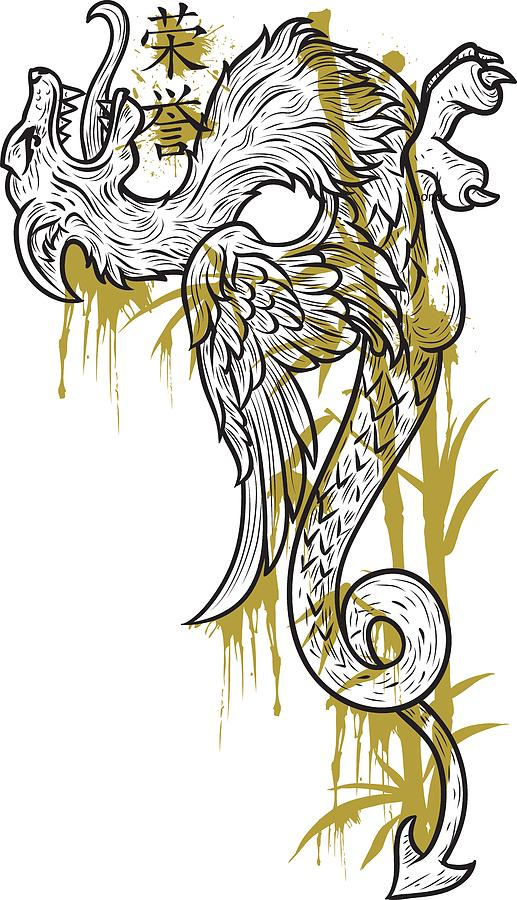 Dragon Digital Art by Passion Loft