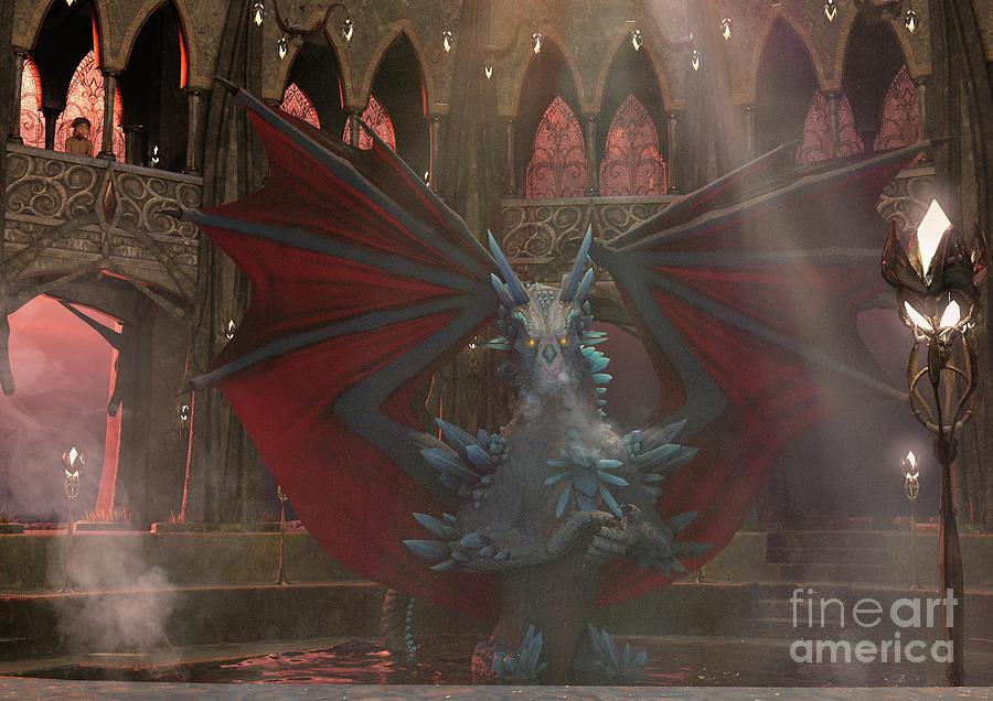 Dragon Steam Bath by Elle Arden Walby