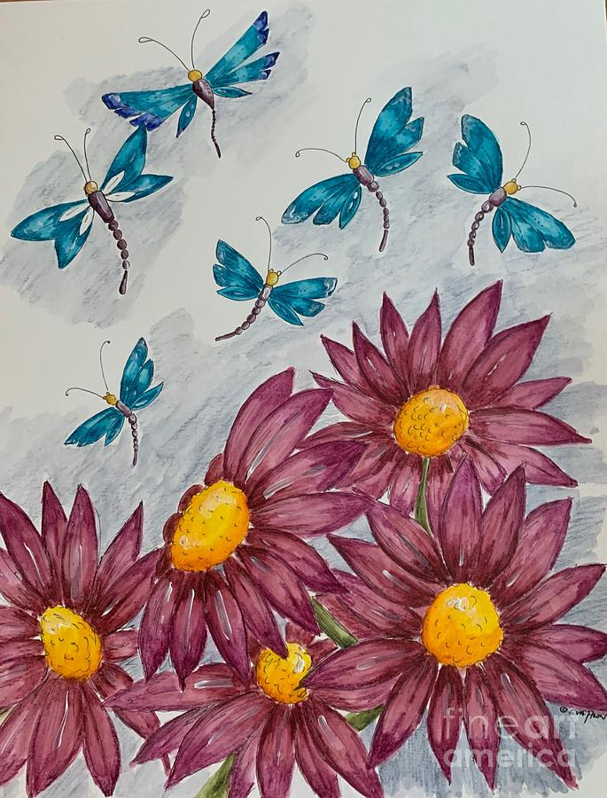 Dragonflies by Eva Ason