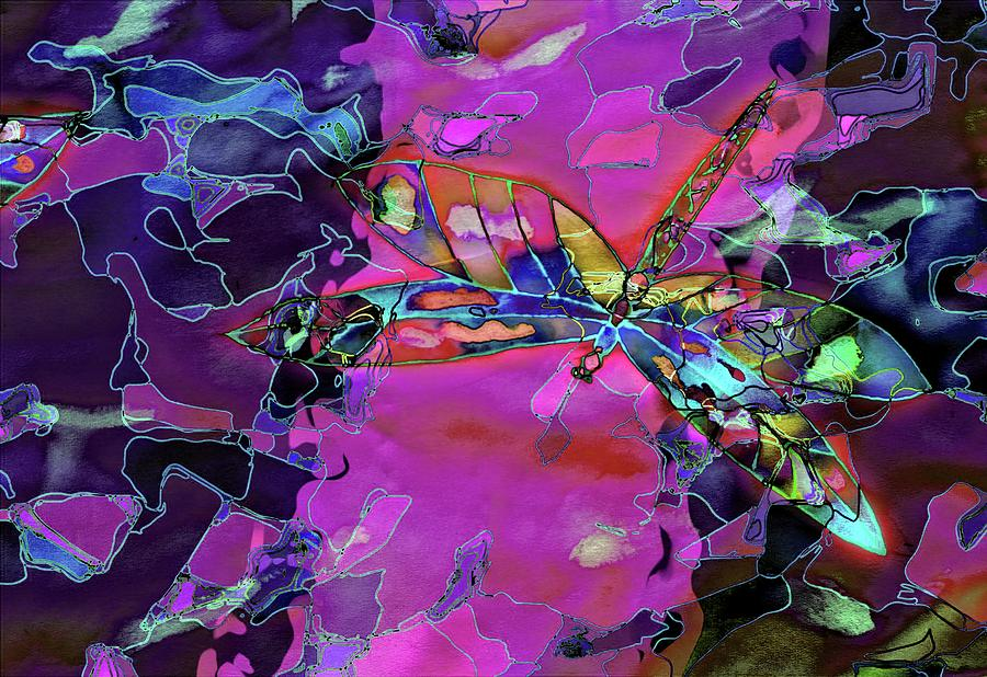 Dragonfly Abstract by Alice Gipson