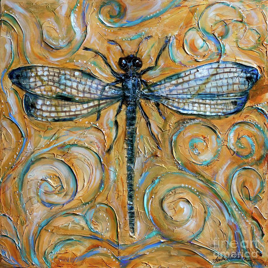 Dragonfly Free Spirit by Linda Olsen