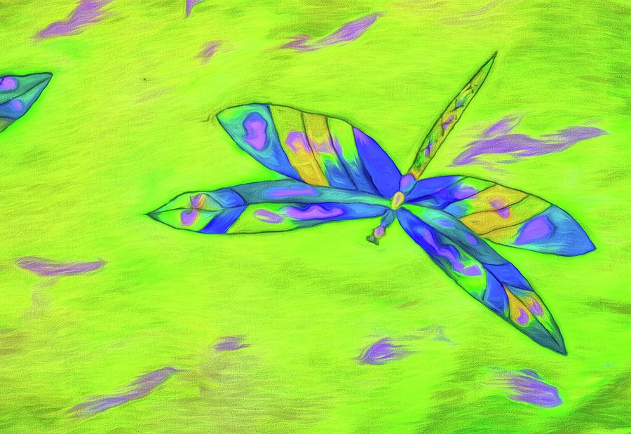 Dragonfly Greens by Alice Gipson