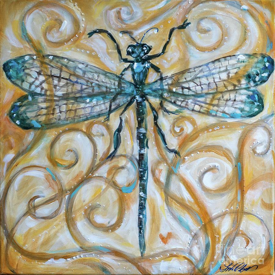 Dragonfly Harmony by Linda Olsen