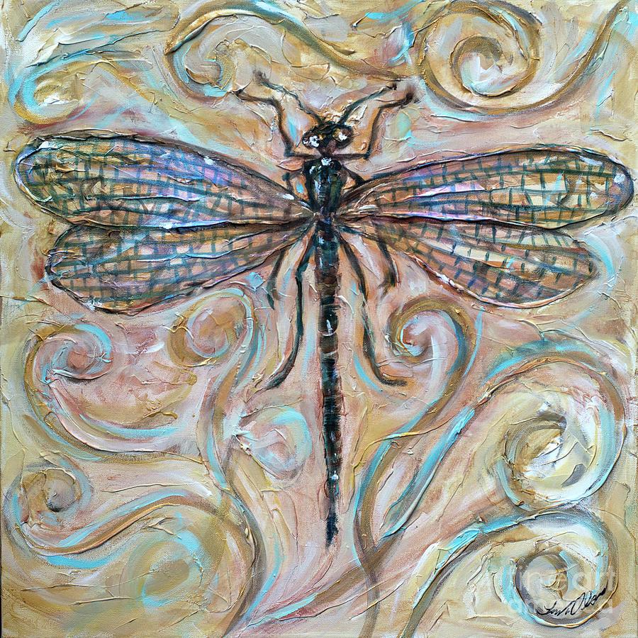 Dragonfly Irridescence by Linda Olsen