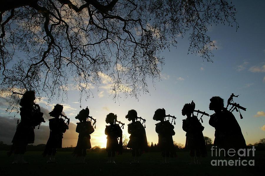 Dragoon Guards Celebrate Album Success Photograph by Cate Gillon