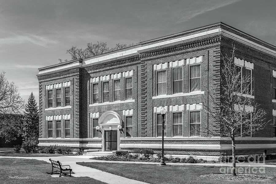 Drake University Cole Hall by University Icons