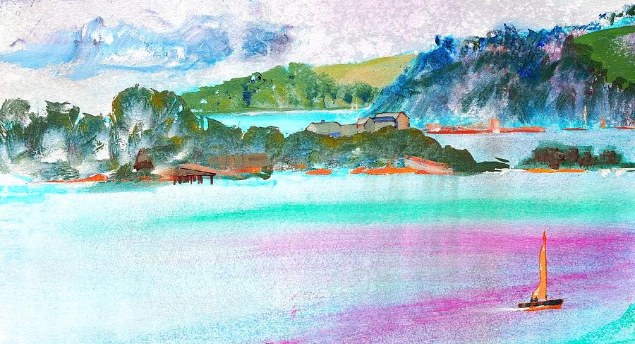 Drakes Island Plymouth Devon by Mike Jory