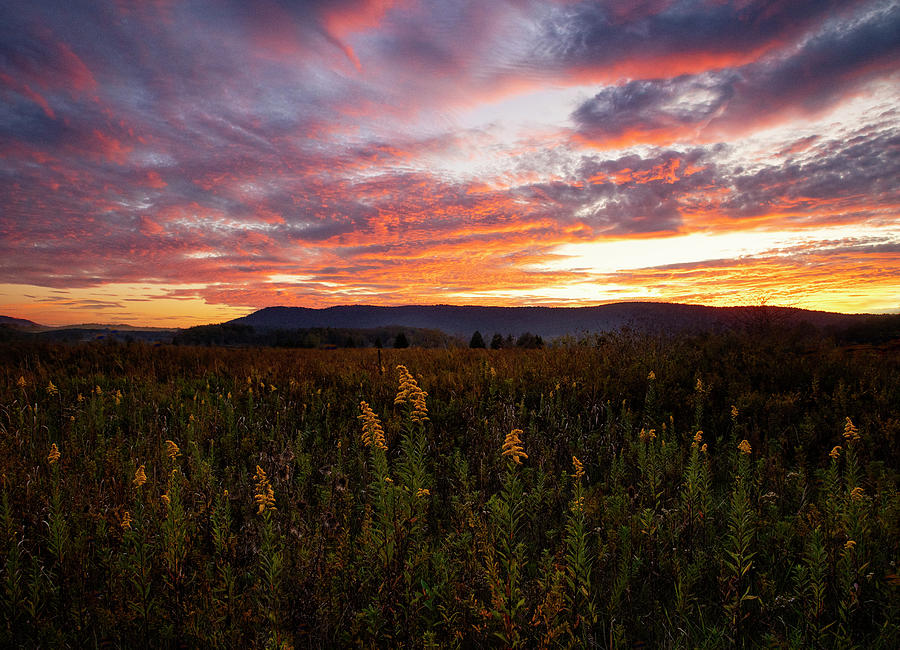 Drama Sky in Canaan Valley by Jaki Miller