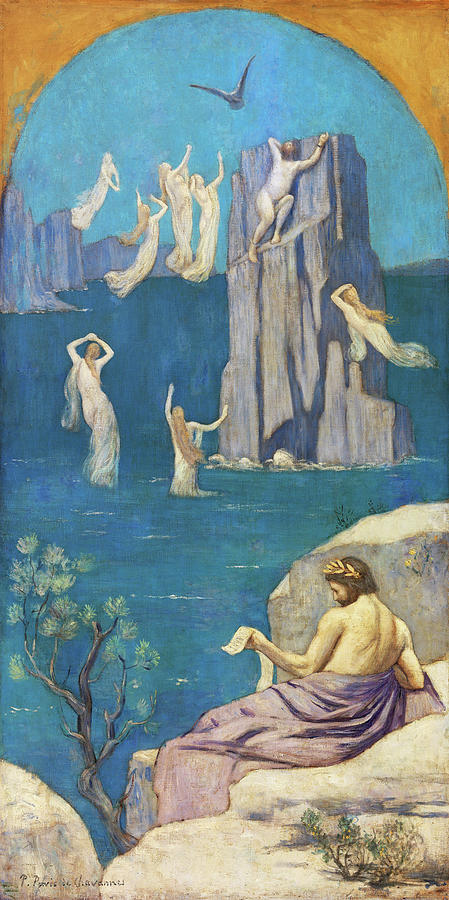 Aeschylus Painting - Dramatic Poetry, Aeschylus - Digital Remastered Edition by Pierre Puvis de Chavannes