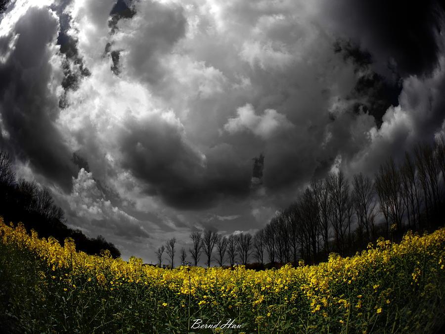 Dramatic sky by Bernd Hau