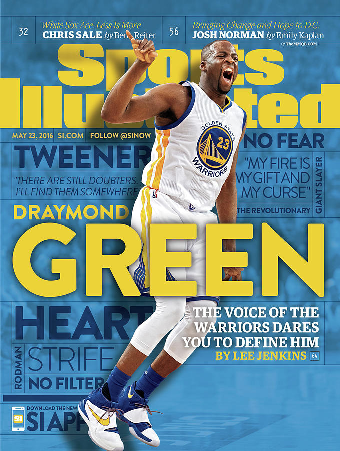 Draymond Green The Voice Of The Warriors Dares You To Sports Illustrated Cover Photograph by Sports Illustrated