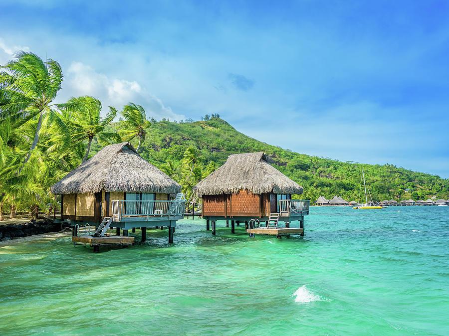 Dream Holiday Luxury Resort, Tahiti Photograph by Mlenny