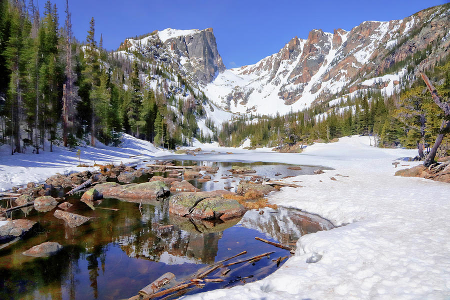 Dream Lake and Hallett Peak by Suzanne Stout
