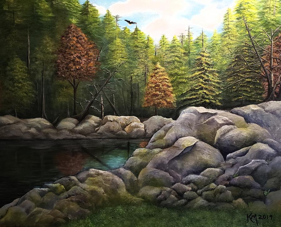Dreaming Of Canada Painting