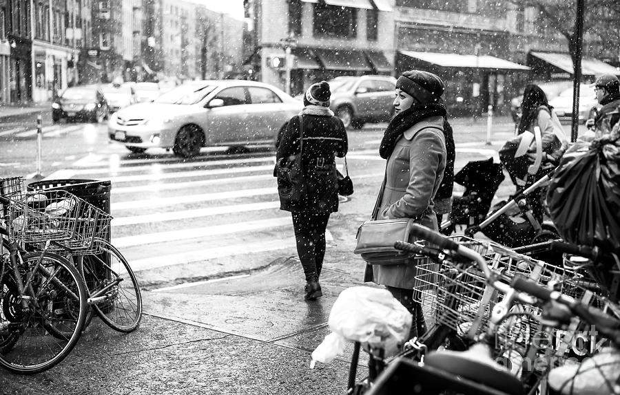 7th Avenue Photograph - Dreaming Of Winter In Greenwich Village by John Rizzuto