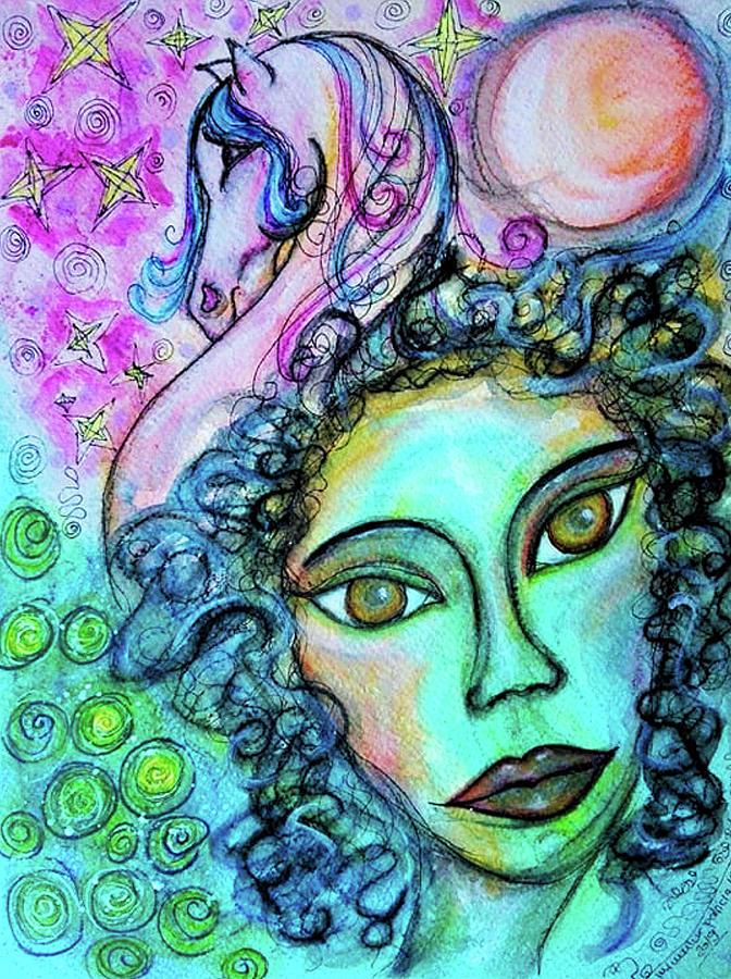 Dreams are Free by Mimulux patricia No