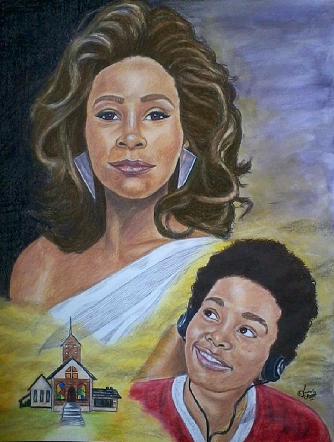 Dreams Do Come True. Whitney Painting by Arron Kirkwood