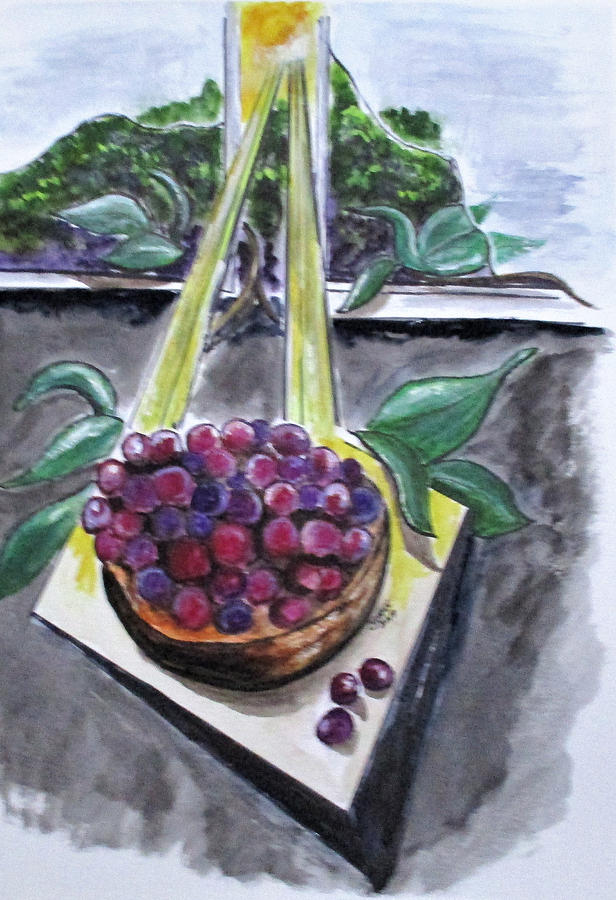 Dreams of Grapes by Clyde J Kell