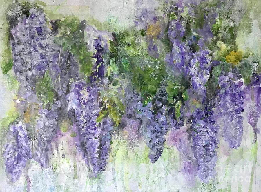 Dreams of Wisteria by Diane Fujimoto