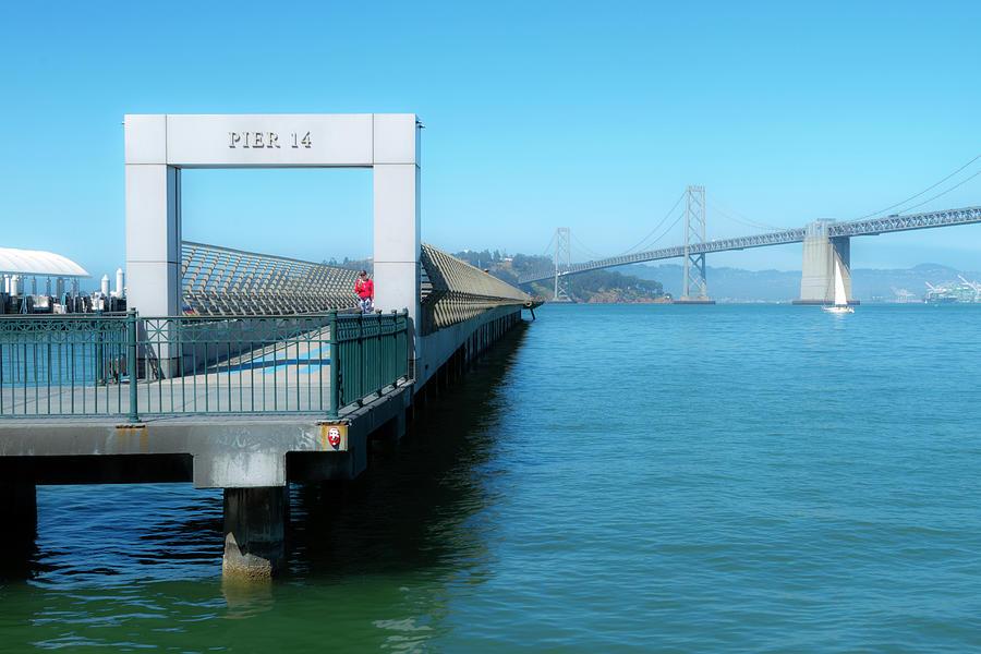 Dreamy Afternoon at Pier 14 by Bonnie Follett