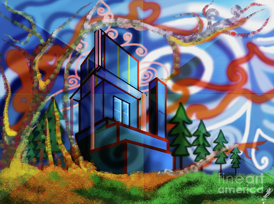 Dreamy City World Digital Art