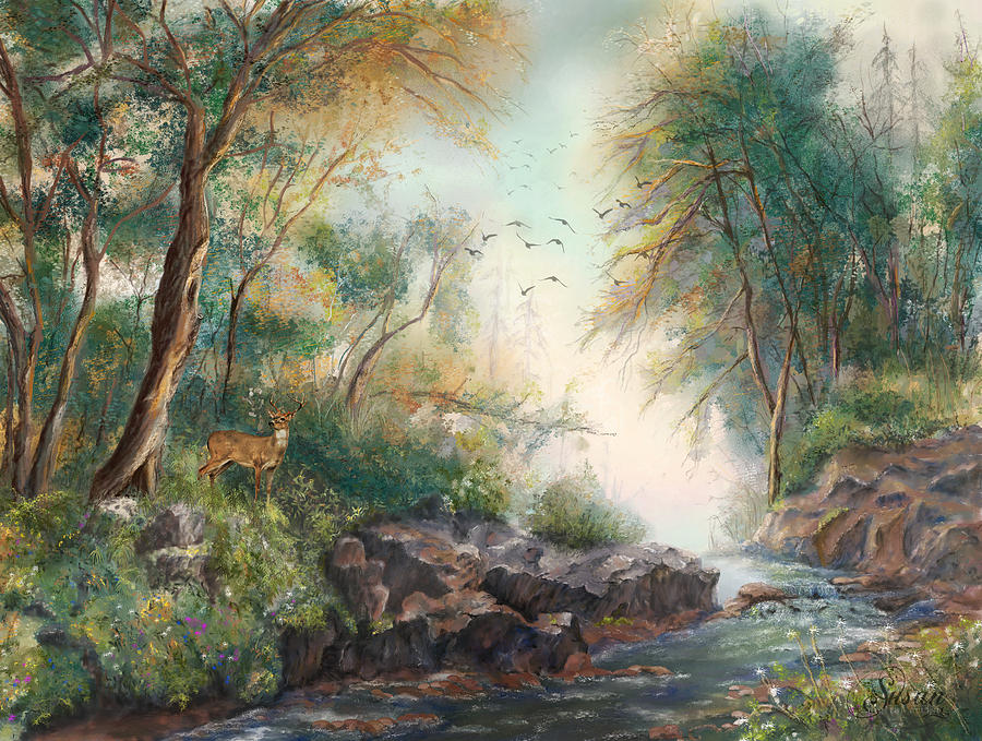 Dreamy Creek by Susan Kinney