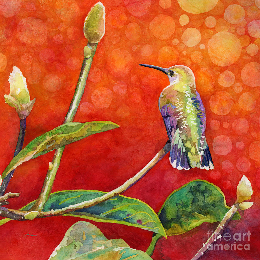 Dreamy Hummer Painting