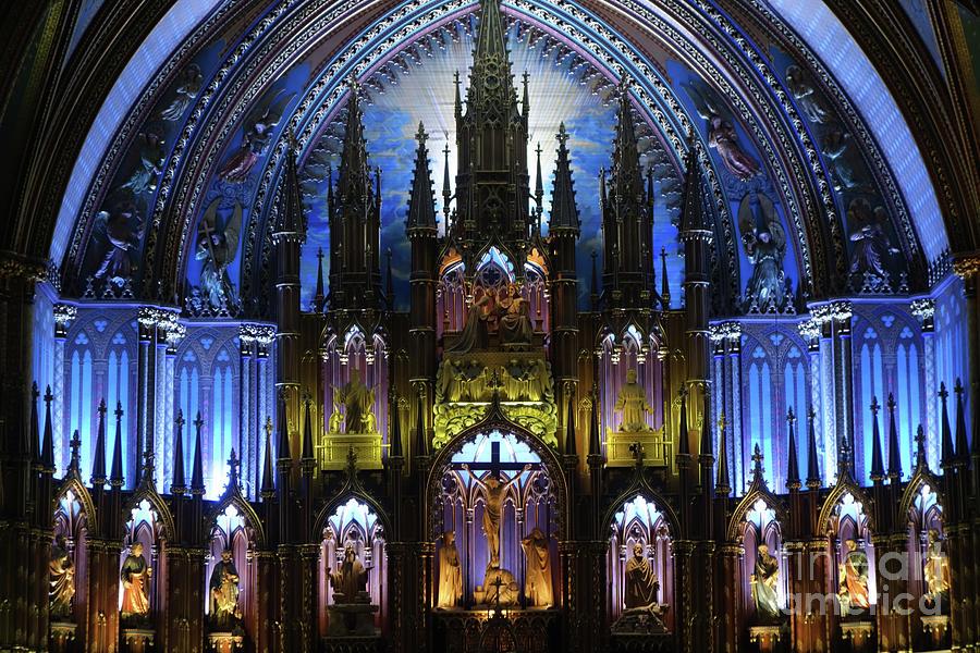 Dreamy Notre-Dame Basilica by Wilko Van de Kamp