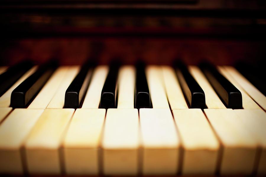 Dreamy Piano Keys Photograph by Rapideye