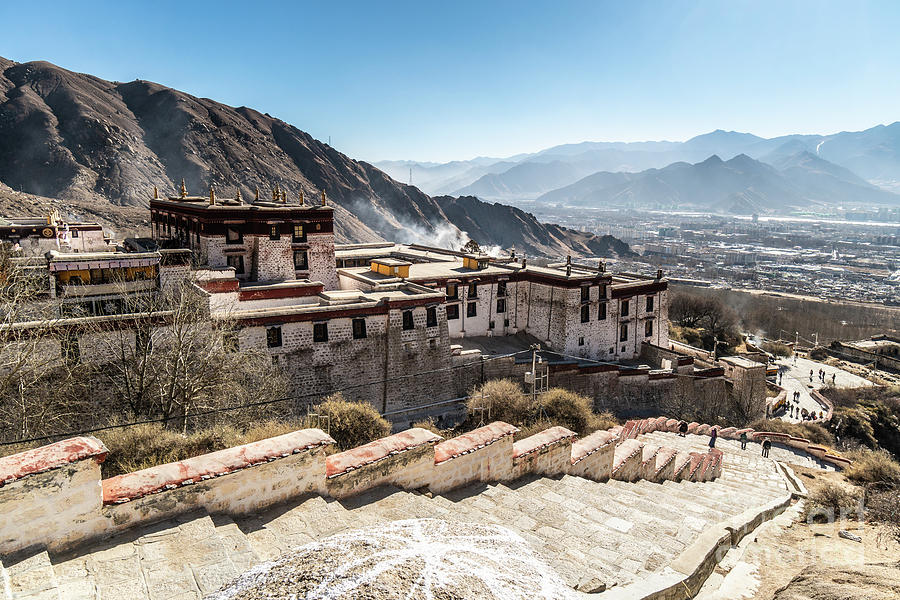 Drepung Monastery in Lhasa, Tibet Autonomous Region of China by Didier Marti